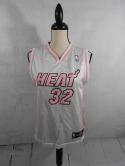 Shaq Oneal Shaquille Miami Heat Womens M Pink Basketball Jersey NBA 4 Her adidas