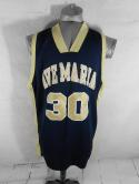 Ave Maria Gyrenes Mens 3XL Team Issued The Rock Italy Basketball Jersey NCAA 2XL
