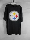 Pittsburgh Steelers Youth XL 14-16 Dry Fit NFL Team Apparel T Shirt Womens M L