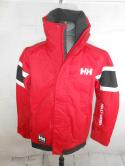 Helly Hansen Mens S Red Sailing Reflective Hooded Jacket Midlayer Coastal
