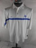 Air Force Falcons Authentic Athletics Mens L Nike Dri-Fit Team Polo Shirt