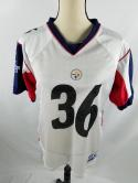 Jerome Bettis Pittsburgh Steelers Super Bowl XL Youth XL Womens M Reebok Jersey