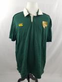 South Africa Springboks Canterbury Mens 3XL 2XL Rugby Polo Jersey Shirt