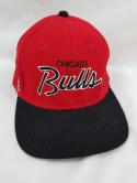 Chicago Bulls VTG The Pro Wool Fitted 7 1/2 Sport Specialties Hat Cap NBA Jordan