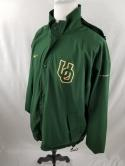 Oregon Ducks Nike Storm Fit Mens XL VTG Zip Up Hooded Jacket NCAA Team Issued