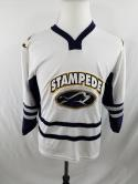 Sioux Falls Stampede Youth L Sewn OT Sports Jersey Minors NHL USHL Womens S M