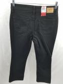 Signature Levi Strauss Womens 8 Totally Slimming At-Waist Bootcut Jeans Black