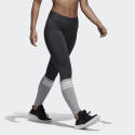 adidas Womens XS Carbon Gray Sport ID Tights Yoga Pants Leggings Atlettik Ankle