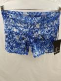 NWT 90 Degree Reflex Womens M Prove Them Wrong Floral Blue Compression Shorts