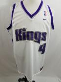 Chris Webber Sacramento Kings Mens Team Nike XL Home Jersey NBA Sewn Length +2