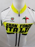 Gran Fondo Italia Mens S 4 Italy Zip Up Cycling Jersey Pissei Miami Coral Gables