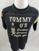VTG Tommy Os Drinking Game Bar Beer St Stephen Minn Raglan Baseball T Shirt 80s