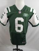 Mark Sanchez New York Jets Nike Elite Sewn Mens 40 M S Jersey NFL Home