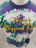 VTG 90s Disney Designs Blizzard Beach All Over Print Graphic T-Shirt OSFA L XL
